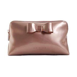 Ted Baker Vanitee Cosmetic Bag in Rosegold